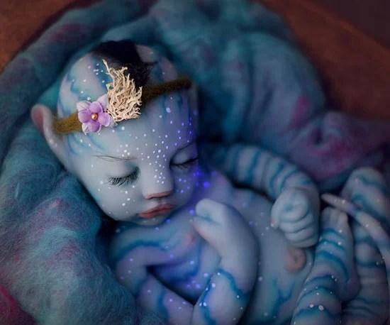 hyper realistic avatar baby