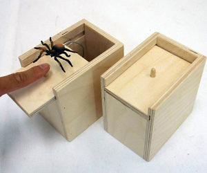 Scare Box Spider Prank