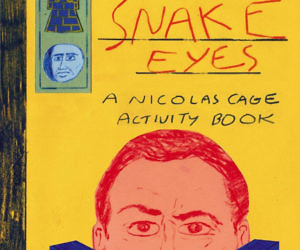 Nicolas Cage Activity Book