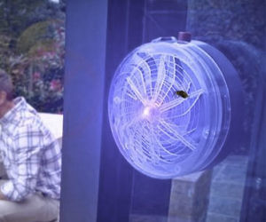 Solar Powered Mosquito Zapper