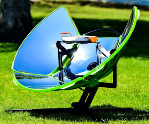 Solar Powered Camping Grill