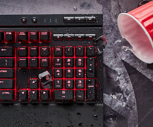 Spill-Proof Gaming Keyboard