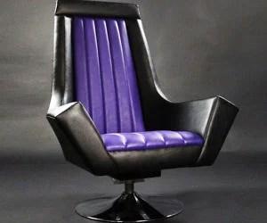 throne office chair clear rail iron backboard star wars emperor armchair