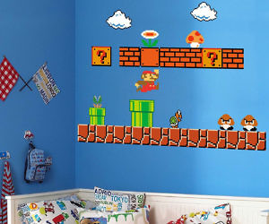 Super Mario Bros. Wall Decals