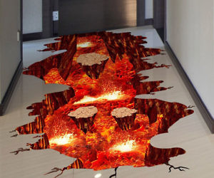 The Floor Is Lava Floor/Wall Decal