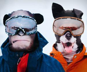 Ultra Realistic Animal Face Ski Masks