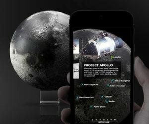 Ultra Realistic 3D Printed Moon Model