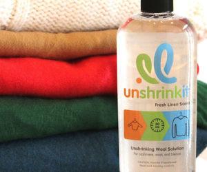 Unshrinking Clothing Solution
