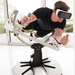 Flight Simulator Chair 360 Emerald Green Velvet Virtual Reality Sex Suit