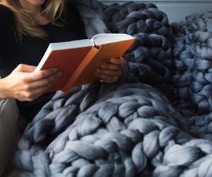 Handmade Chunky Knit Blankets
