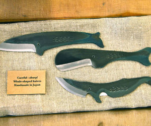 Whale Shaped Knives