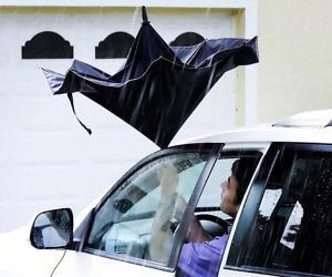 Wind Proof Reverse Open Umbrella
