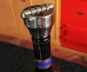 Wine Bottle Combination Lock