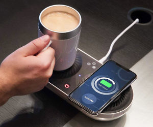 Wireless Phone Charger & Drink Warmer