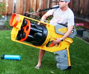 Worlds Largest NERF Gun