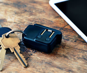 The Keychain Smartphone Charger