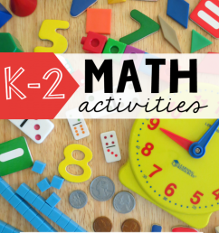 FREE K-2 Math Activities - This Reading Mama [ 1024 x 768 Pixel ]
