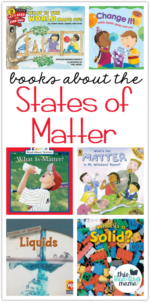 small resolution of States of Matter Books for Kids - This Reading Mama