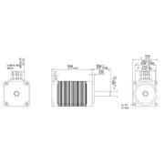 DSM2845H-16065 DSMH Series 2.8 Ohm (O) Winding Resistance