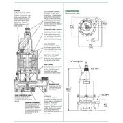 WGL20-23(LD) Myers® WGL20 Series 2 HP Grinder Pumps from