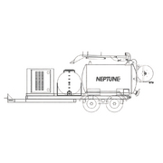 NP800 Neptune™ 845 Gallon (gal) Debris Tank Capacity