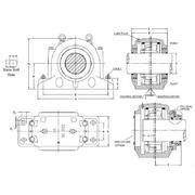 SD3100 Plummer Block Housing and Accessories from P.T