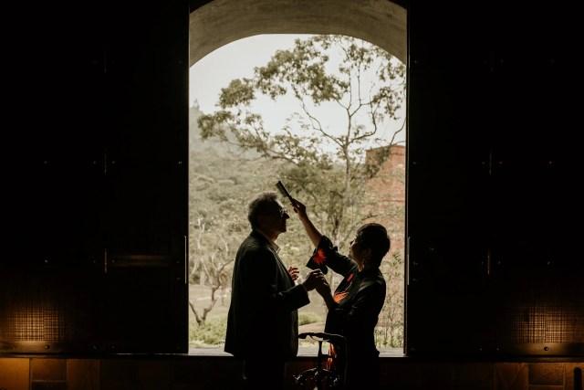 Legacy Yen Tu wedding preparation couple