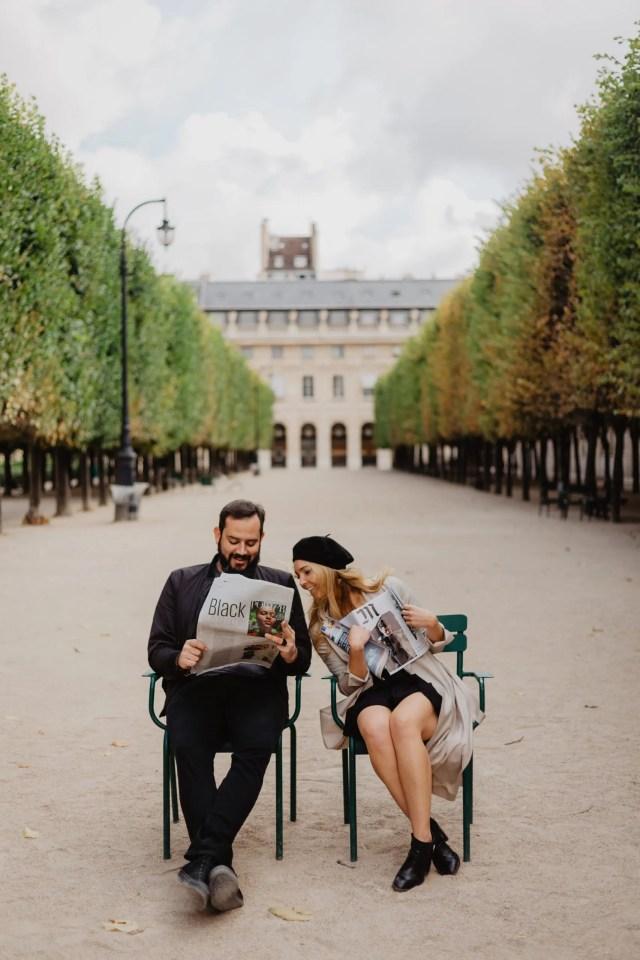 palais royal photo wedding couple