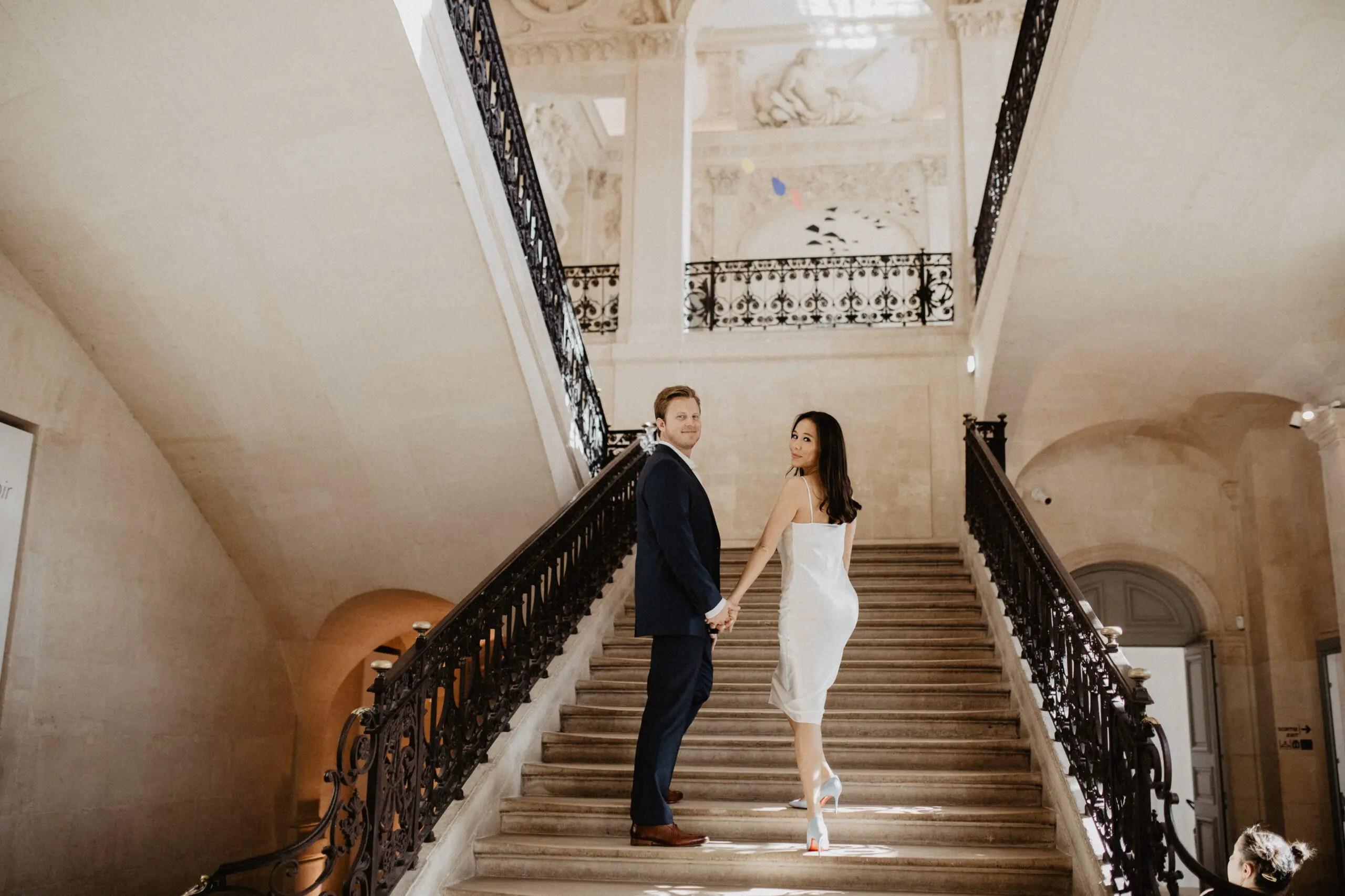 Paris elopement picasso museum