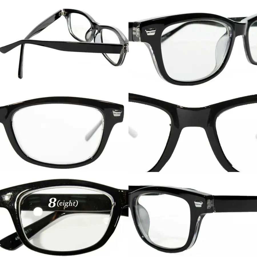 伊達メガネ 黒縁 メンズ ウェリントン メガネ新作 眼鏡黒ぶち眼鏡 黒 ブラック ウェリントン型 めがね ...