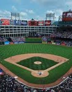 Globe life park formerly rangers ballpark seating chart row  seat numbers also rh tickpick