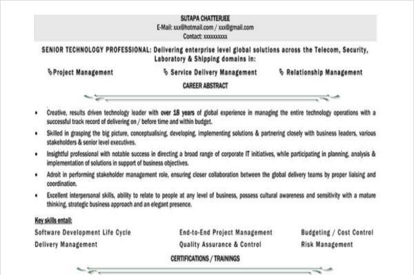 view a combination resume sample