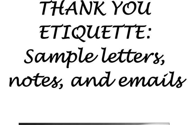43+ Thank You Letter Free Download