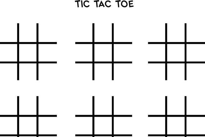 3+ Tic Tac Toe Template Free Download