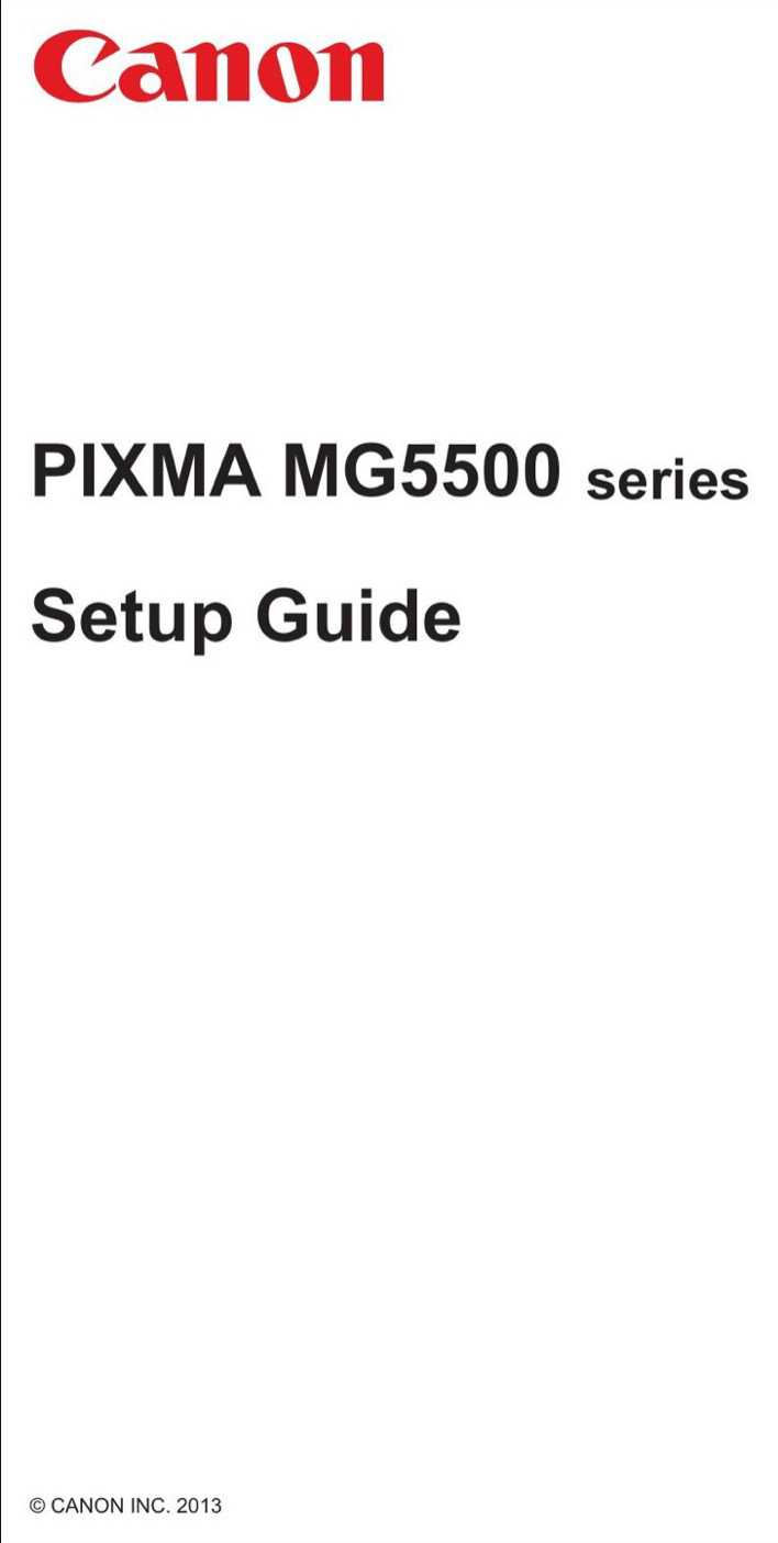 Download Canon Quick Start Guide Sample for Free