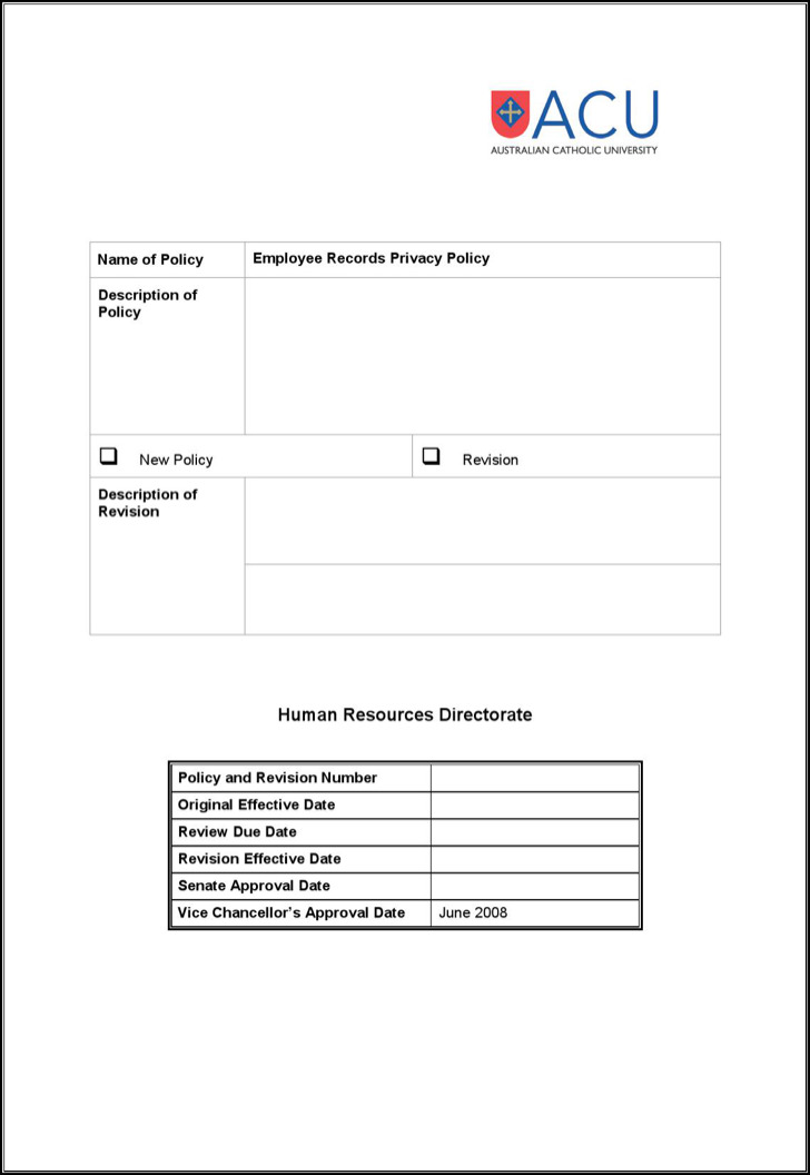 23+ Employee Record Templates Free Download