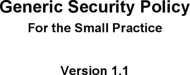 7+ 7 Security Policy Templates Free Download