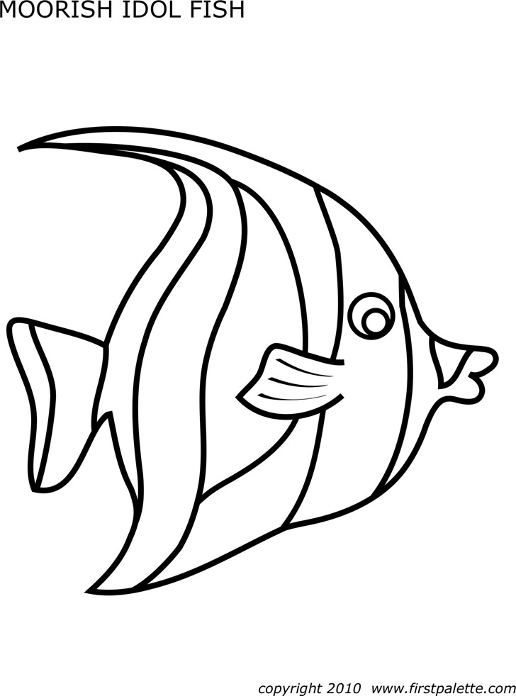 5+ Fish Template Free Download