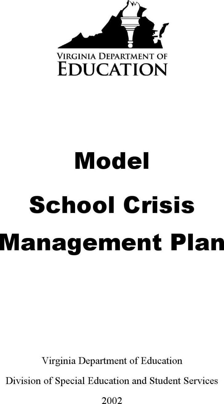 7+ Crisis Plan Templates Free Download