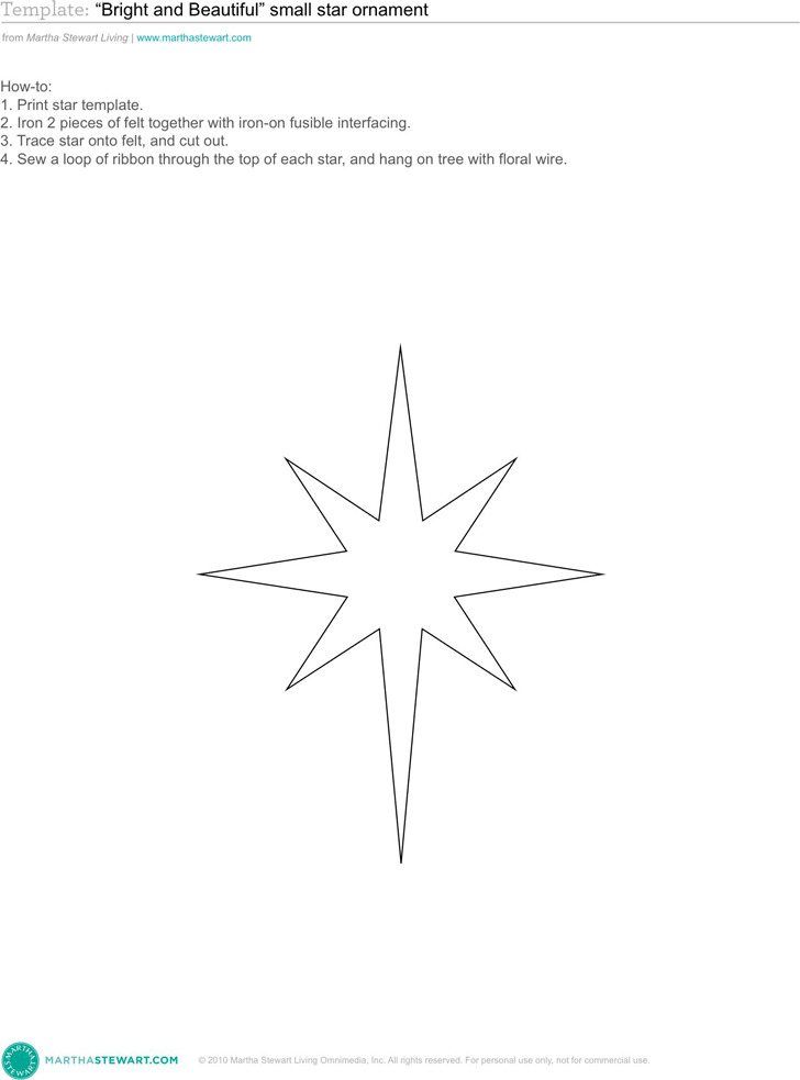 3+ Star Template Free Download