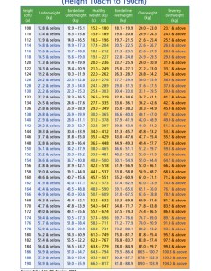 Weight  height chart for boys example also download sample templates boy free rh tidytemplates