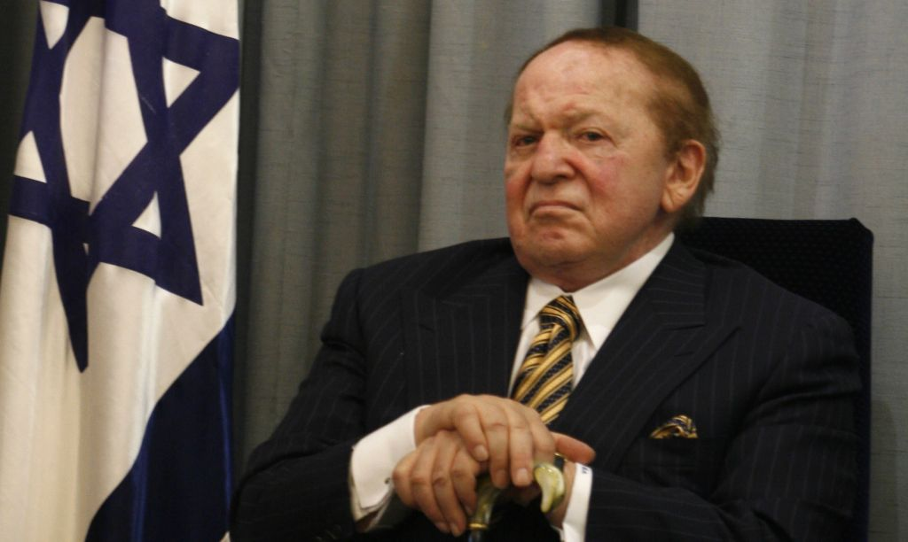 Resultado de imagen para Sheldon Adelson