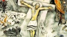 "Marc CHAGALL, ""La Crucifixion blanche"" (Crédit : courtesy)"