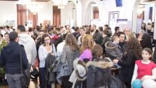 Salon de l'alyah à Paris (Crédit : Alain Azria)