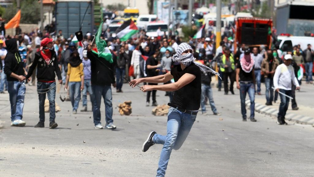 Image result for Rioting palestinians pictures