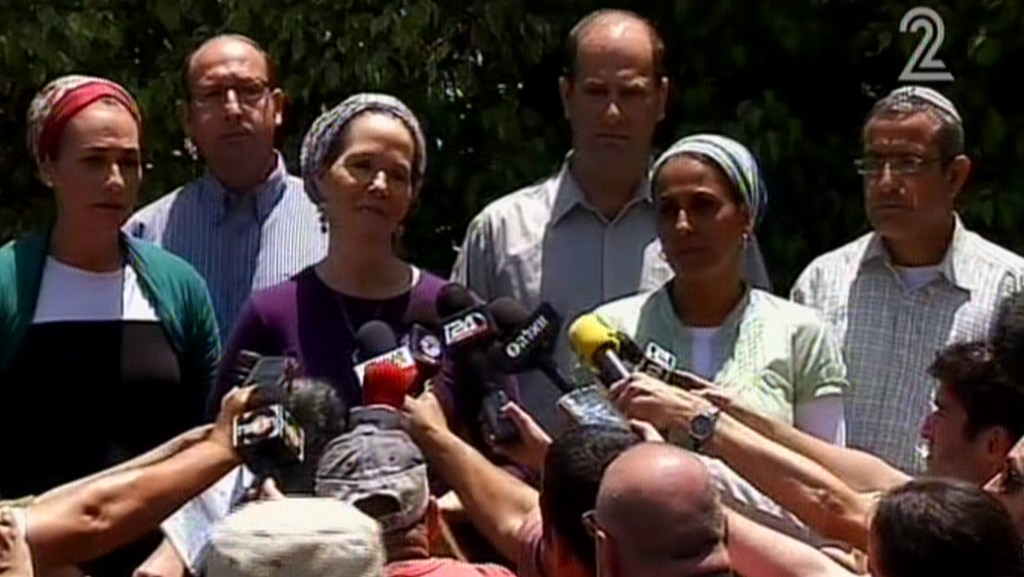 #BringBackOurBoys mothers of the 3 teens kidnapped