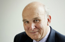 UK Trade Secretary Vince Cable (photo credit: UK government/Wikipedia)