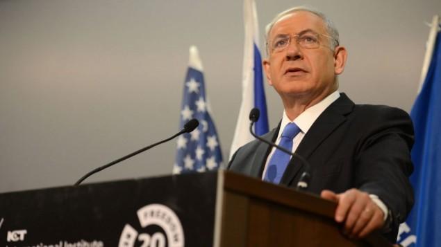 Benjamin Netanyahu (Crédit : GPO)