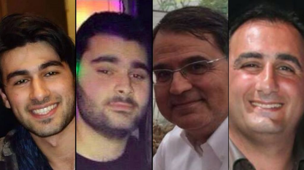 The four victims of the Paris Hyper Cacher attack, from left to right: Yoav Hattab, Yohan Cohen, Francois-Michel Saada, Philippe Braham. (photo credit: Courtesy)