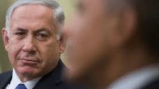 Benjamin Netanyahu et Barack Obama à Washington en 2014 (Crédit : Flash 90)